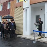 Виктор Федорович Янукович открыл Центр первичной медико-санитарной помощи в Донецке