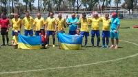 Национальная сборная Украины по футболу среди врачей стала чемпионом мира 2015 года